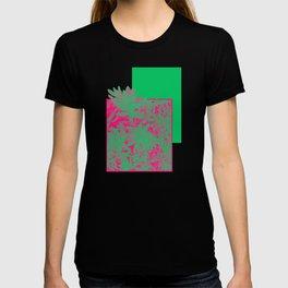 Neon Greenery #society6 #succulent T-shirt