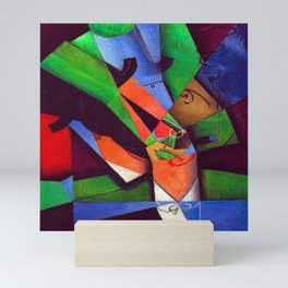Juan Gris The Smoker Mini Art Print