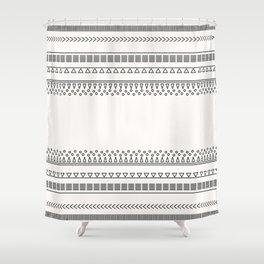 Tribal Pattern of Balondo Shower Curtain