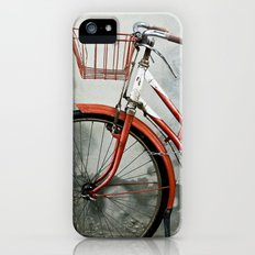 Red bicycle Slim Case iPhone (5, 5s)
