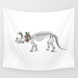 Tri-rosie-tops Wall Tapestry