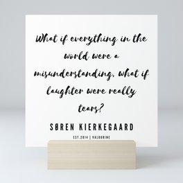 10      Søren Kierkegaard Quotes   190523 Mini Art Print