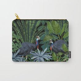 Cassowary in the jungle Carry-All Pouch