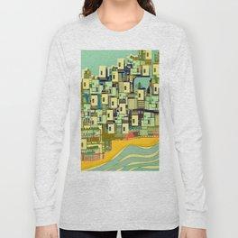 Mediterranean Coast Long Sleeve T-shirt