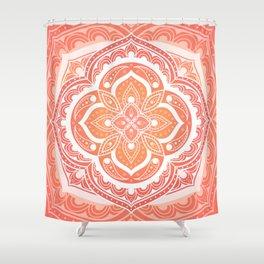 Mandala pattern - Indian floral motif Shower Curtain
