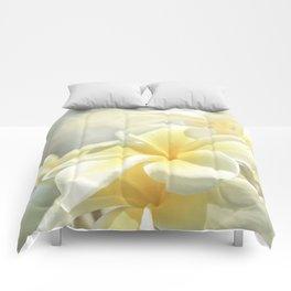 Na Lei Pua Melia Aloha e ko Lele Comforters