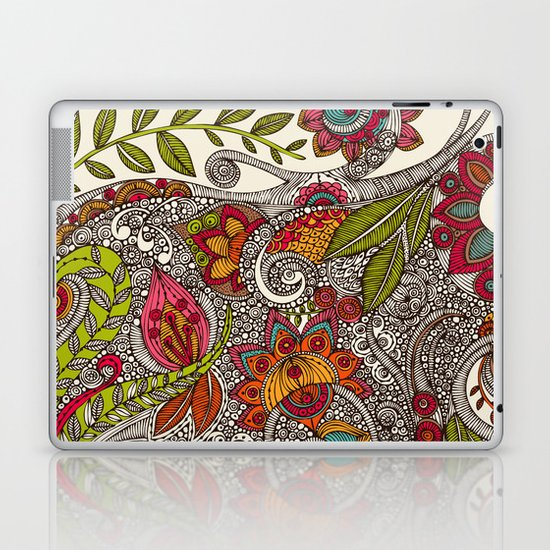 Random Flowers Laptop & iPad Skin