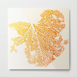 leaf veins Metal Print