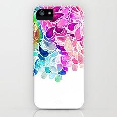 Rainbow Watercolor Paisley Floral iPhone (5, 5s) Slim Case