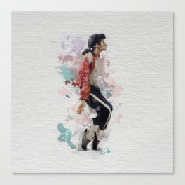 Pop legend watercolor Canvas Print