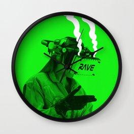 VR Rave Wall Clock