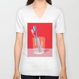 Toothbrush Tango Unisex V-Neck