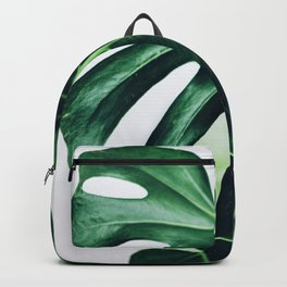spring monstera Backpack