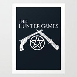 The Hunter Games Art Print