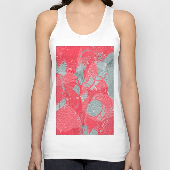 Abstract 102 Unisex Tank Top