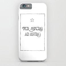 Per Aspera Ad Astra Slim Case iPhone 6s