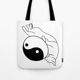 Zen Kitten Tote Bag