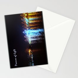 Pianos of light II Stationery Cards