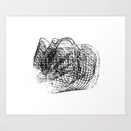 Circles°5 Art Print
