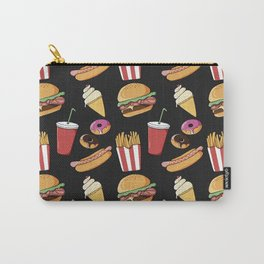 Fast-food (black) Carry-All Pouch