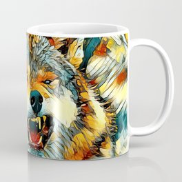 AnimalArt_Wolf_20170606_by_JAMColors Coffee Mug