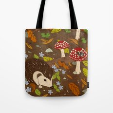 Woodland critters (coloured) Tote Bag