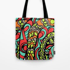 Rooster close up Tote Bag