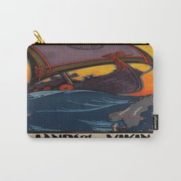 Vintage poster - Scandinavia Carry-All Pouch