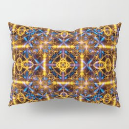 art abstract vibrant colorful Pillow Sham