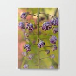 Purple Botanica Metal Print
