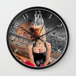 Meteor Girl Wall Clock