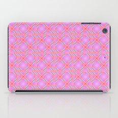 Pastel Broken Diamond Swirl Pattern iPad Case