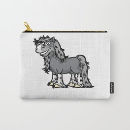 HAPPY HORSE Thoroughbred Lipizzan Horses Pony Carry-All Pouch