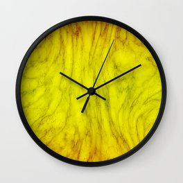 Liquid Oil Paint Marble Texture Design Wall Clock