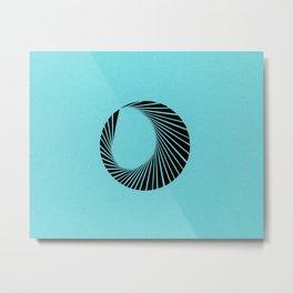 Ebb Metal Print