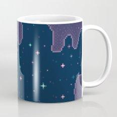 Pixel Indigo Wormhole Galaxy Mug