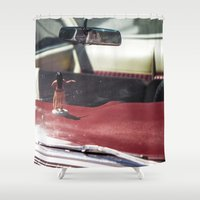 melbourne Shower Curtains featuring Aloha from Melbourne - 2 by Paul Vayanos