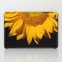 sunflower iPad Cases featuring sunflower by mark ashkenazi