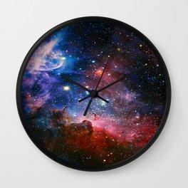 Carnia Nebula Wall Clock