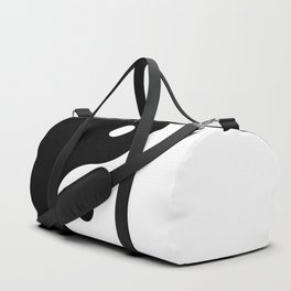 Yin And Yang Sides Duffle Bag