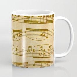 Vintage Sheet Music Coffee Mug