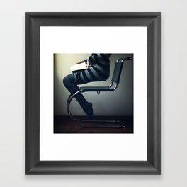 Rapt Framed Art Print