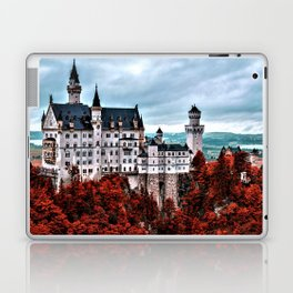 The Castle of Mad King Ludwig in the Autumn, Neuschwanstein Castle, Bavaria, Germany Laptop & iPad Skin