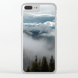 Into Wilderness Clear iPhone Case