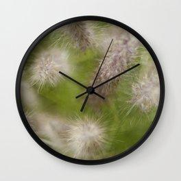 Fluffy Wall Clock
