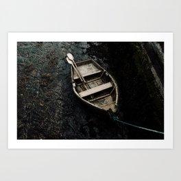 Irish Boat Art Print