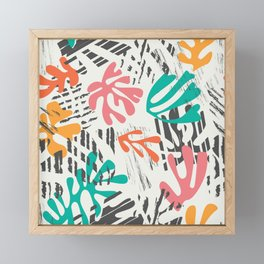 Matisse Pattern 011 Framed Mini Art Print
