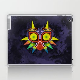 Majora's Mask Splatter Laptop & iPad Skin