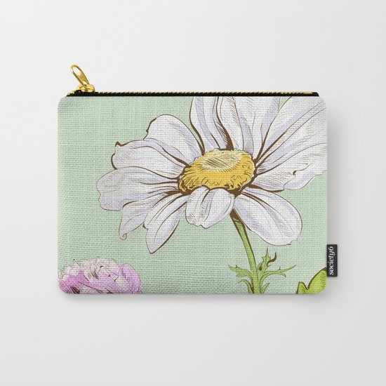 Flowers 103 Carry-All Pouch