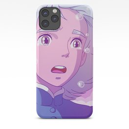 Howl's Moving Castle Sophie sadness! iPhone Case